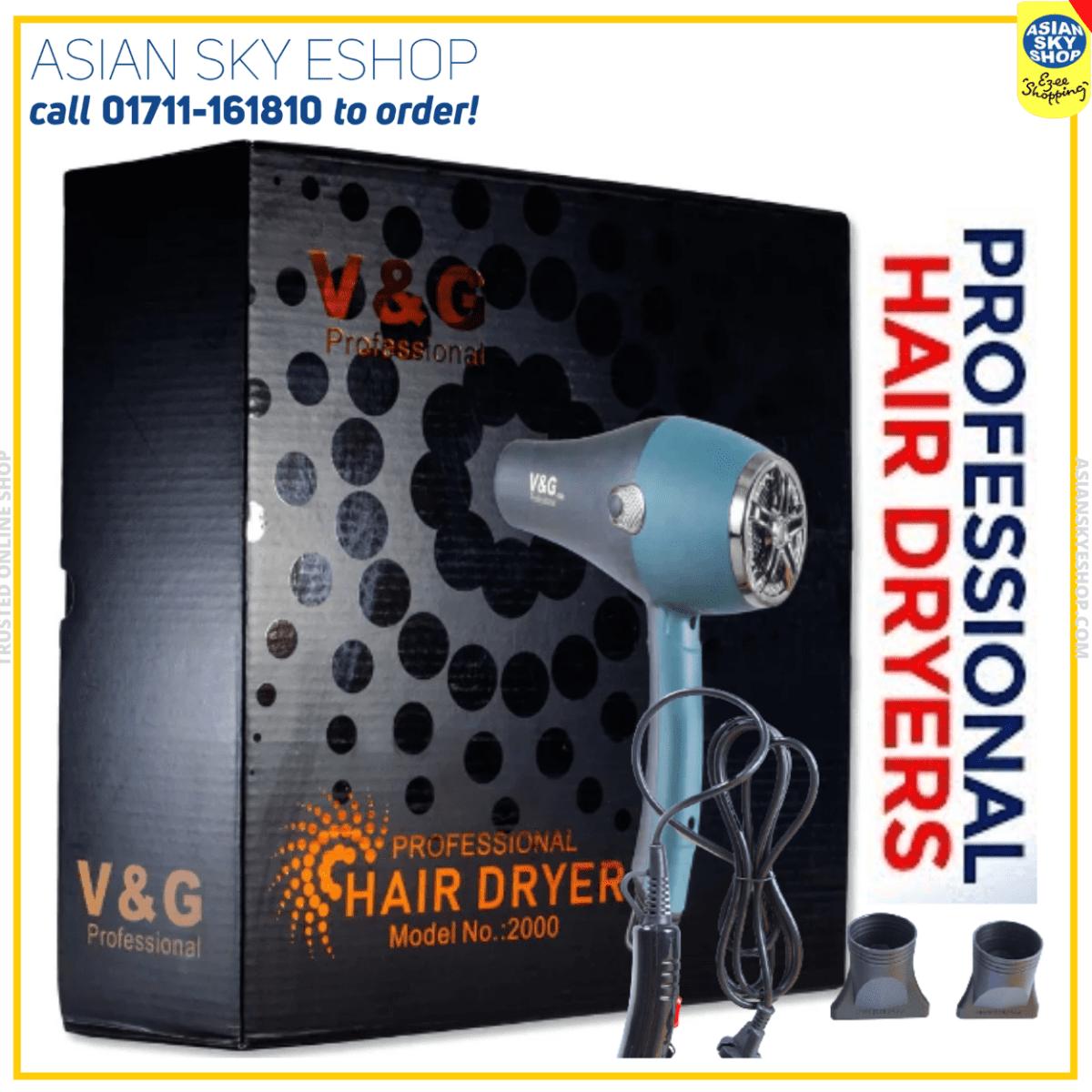 V&G Professional Hair Dryer Model 2000