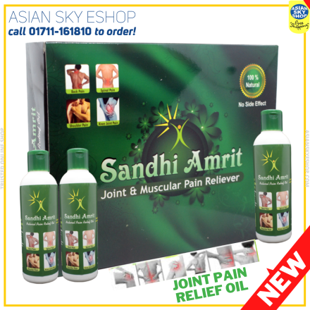 Sandhi Amrit 100% Natural herbal Joint & Muscular Pain Reliever