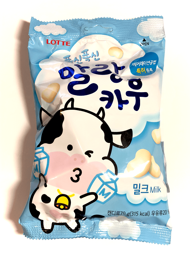 Lotte Malang Cow Chewy Milk Candy