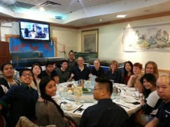 The traditional post-Comedy Lab dinner at Noble House. Gotta replenish all that energy we just expended! Really good opportunity to get to know each other better and to share ideas for the next Comedy Lab!