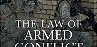 The law of armed conflict