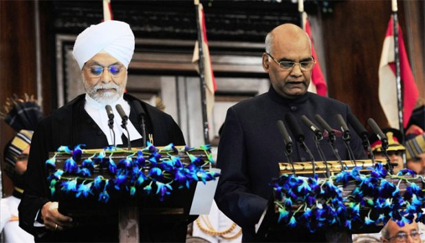 Ram Nath Kovind sworn in as President, calls for making India an economic leader, moral exemplar