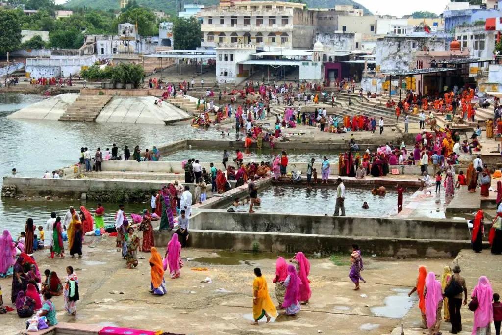 Lac de Pushkar au Rajasthan