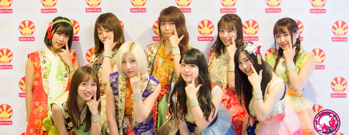 [Interview Exclusive] Cheeky Parade à Japan Expo 2016
