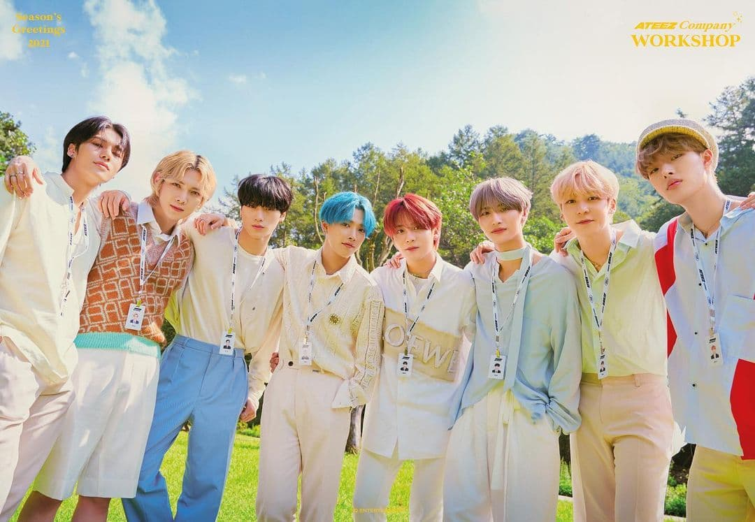 Read more about the article Ateez: Conheça o perfil dos membros