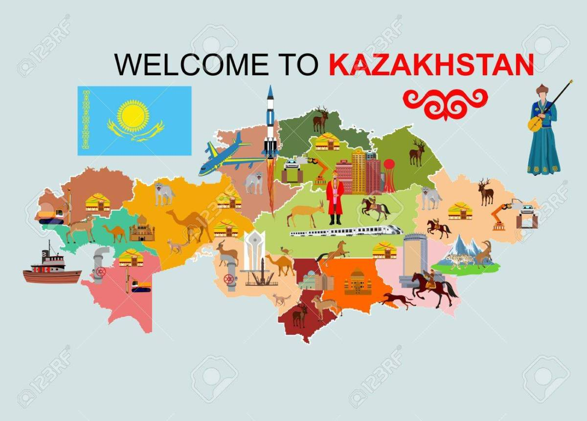 curiosidades cazaquistão