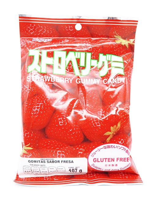 Kasugai Gummy Candy Fresa