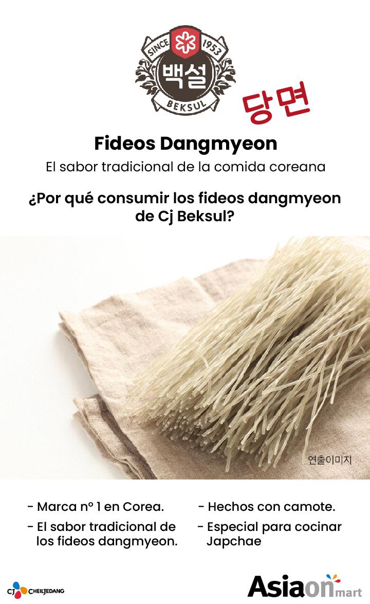 Cj Beksul Fideos Dangmyeon 1Kg