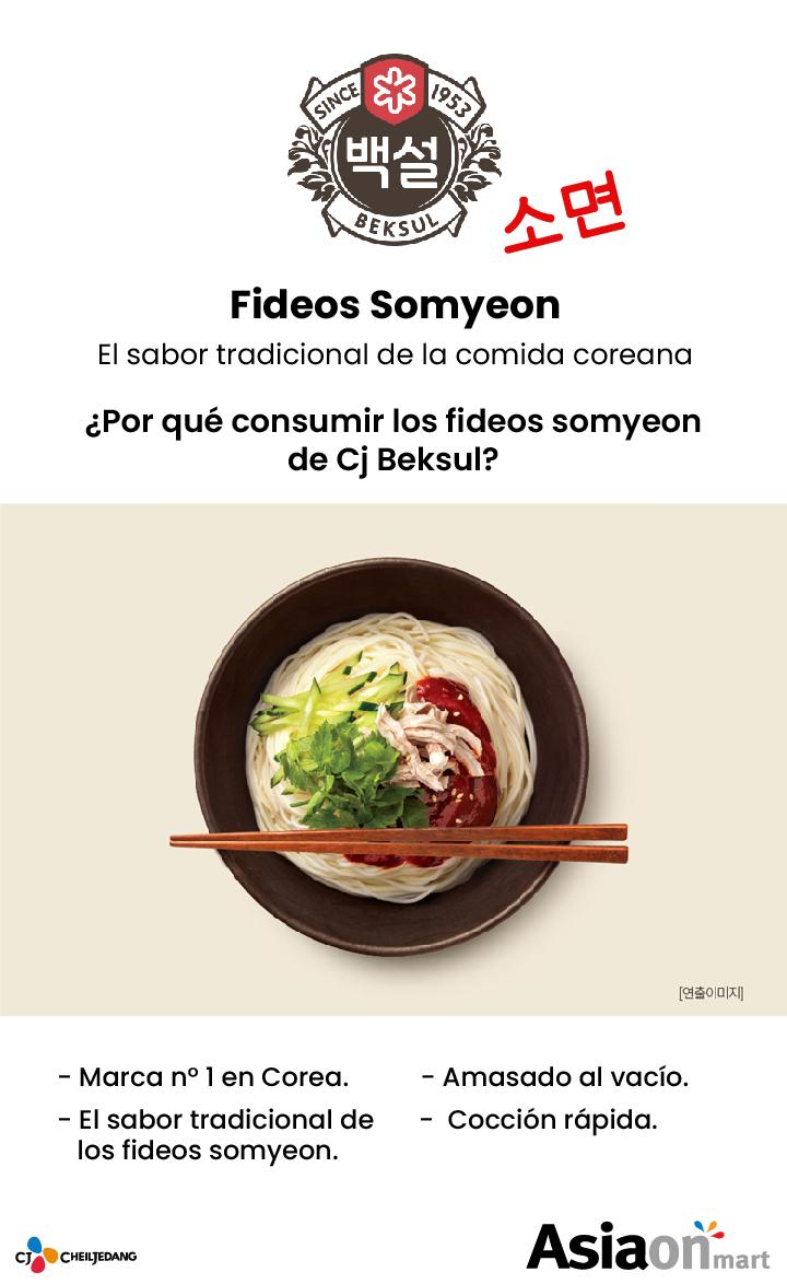 Cj Beksul Fideos Somyeon 900gr