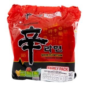Nongshim Shin Ramyun Pack