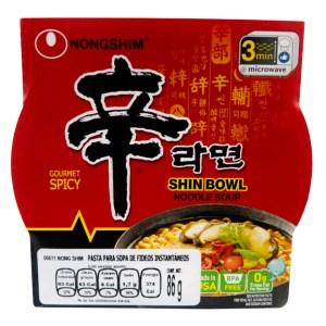 Nongshim Shin Bowl Noodle Soup 86g
