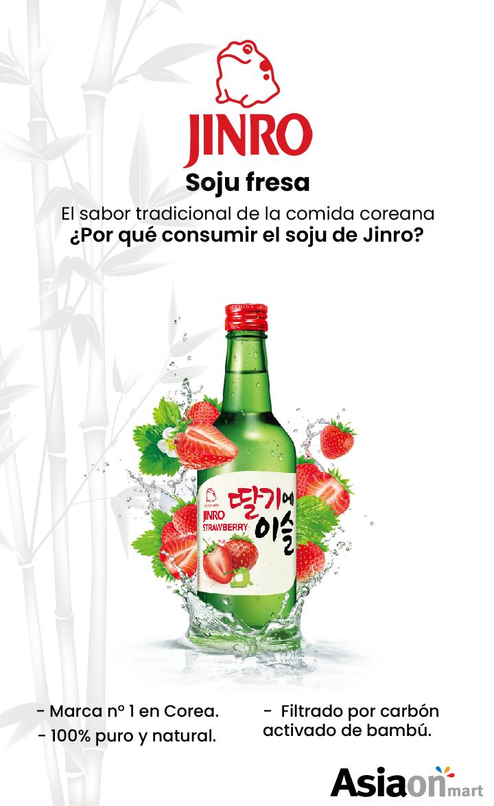 Jinro Soju Fresa 360ml