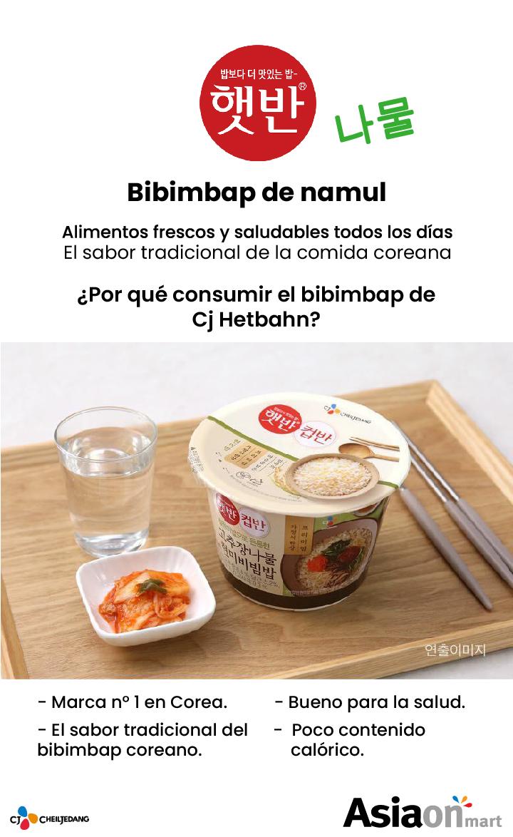 Cj Cupbahn Bibimbap Namul (vegetales condimentados)
