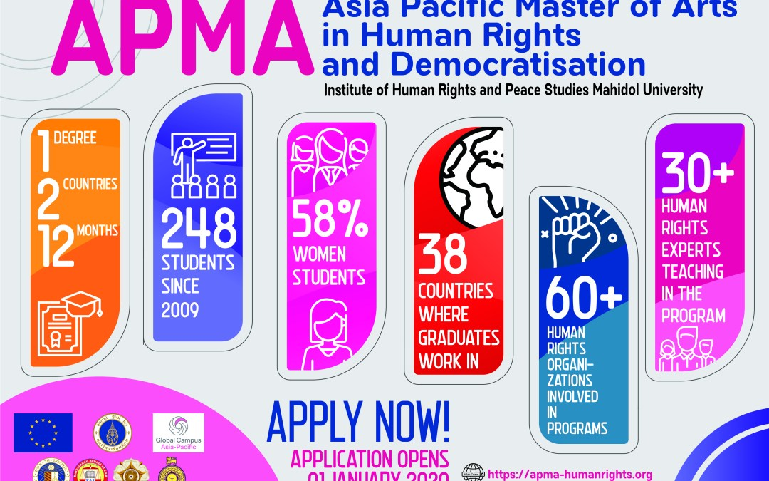 Apply for the APMA programme