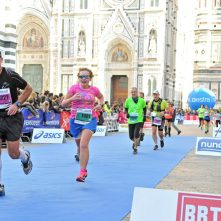 Meta maratonu we Florencji