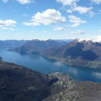 Jezioro Como - widok z Monte Legnoncino