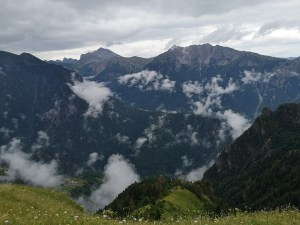Panorama Alp Bergamskich, szlak na Monte Torcola