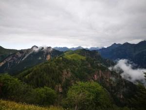 Widok na Alpy Bergamskie