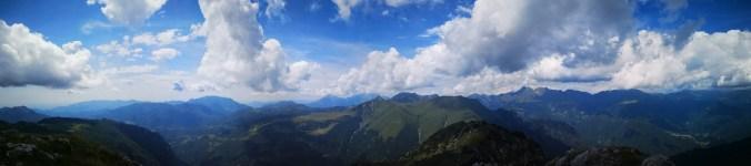 Panorama z Monte Venturosa