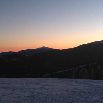 Rysianka - wchód słońca, Babia Góra