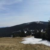 Pilsko, Babia Góra, widok wBeskidach