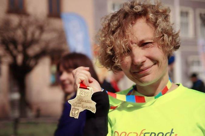 medal biegaczka