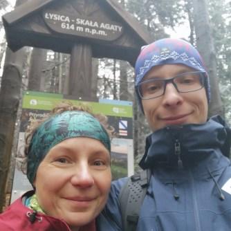 Skałą Agaty, Góry Świętokrzyskie