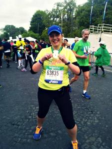 biegaczka, medal, maraton, Paryż