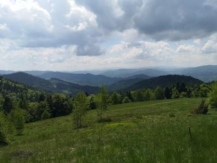 góry, panorama, Beskid Sądecki