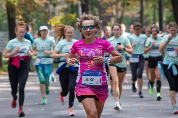 Bieg Kobiet, Wiedeń, biegaczki