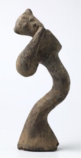 Gravfigur, foto: Frode Larsen, Nasjonalmuseet for kunst, arkitektur og design