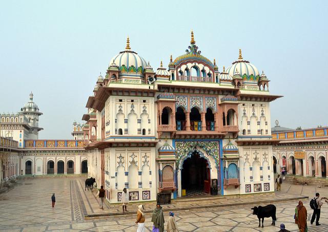 Janakpur-temple