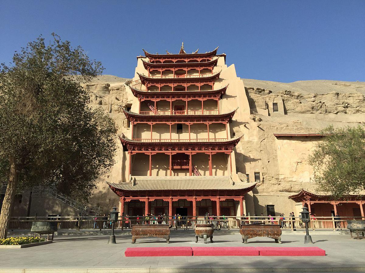 Kongeparet besøkte buddhistisk verdensarv