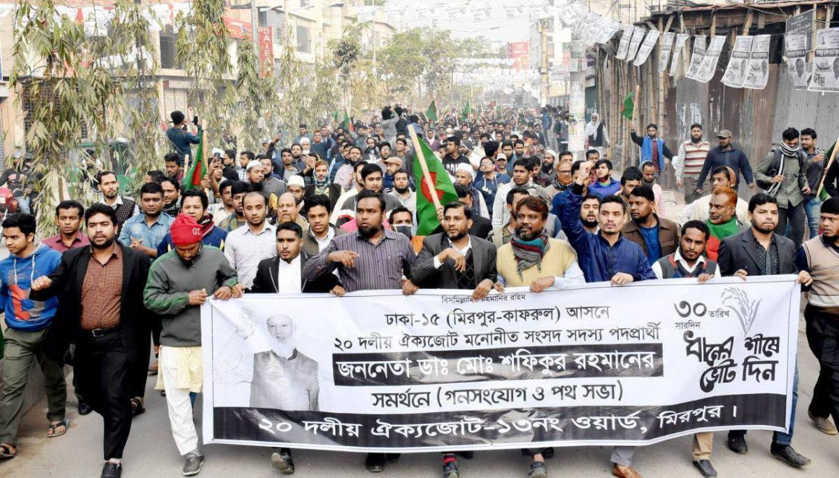 Uro blant islamister i Bangladesh