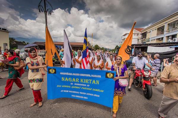 Nargar kirtan organised by the Gurdwara Sahib Bentong sanggat in conjunction with Samelan 2014