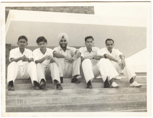 Comrades at the University of Malaya (Singapore): Jegadeva, Sockalingam, Satwant, Bachan Singh, Joga Singh