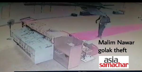 MalimNawar-golak-theft