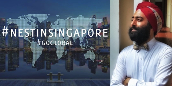 Ash Singh to head Singapore operations of business incubator Nest.
