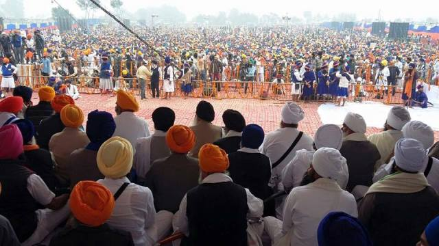 The Sarbat Khalsa gathering at Chabba, Amritsar, on 10 Nov 2015. Some quarters are questioning the lack of transparency that went into the 13 resolutions passed.