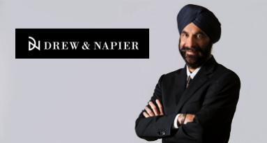Davinder Singh: CEO of Singapore law firm Drew & Napier