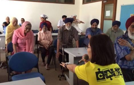 Kidney talk for elders at Sikh Centre, Singapore - PHOTO / SIKH CENTRE