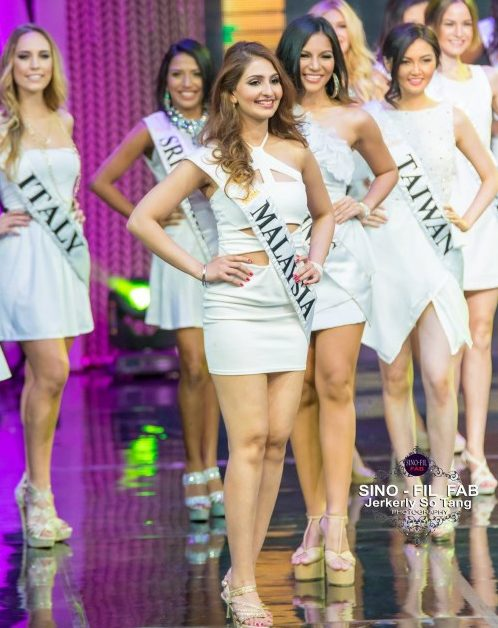 Amrit Kaur Dhillon: Miss Global 2015 finalist
