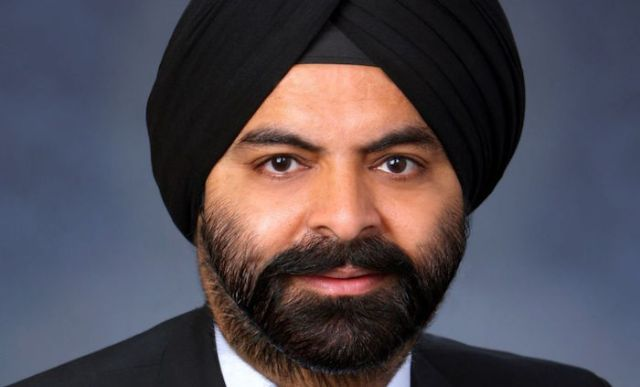 Mastercard CEO Ajay Singh Banga named top ethnic minority business