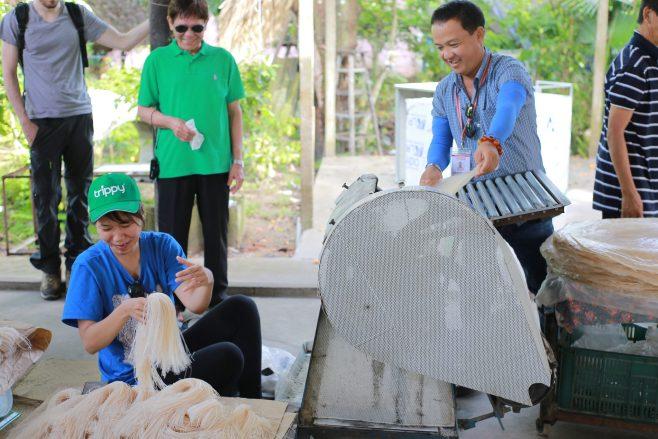 Mekong Delta experience - making hu tieu 2