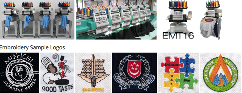 T-Shirt Printing Services in Singapore: Best T-Shirt embroidery services in Singapore