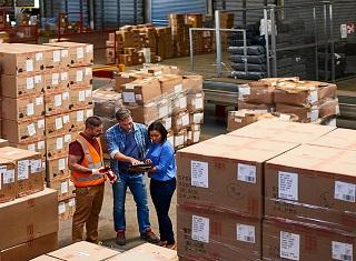 Проверка и переупаковка грузов в Китае