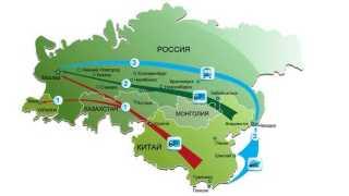 Перевозки грузов из Китая в Москву