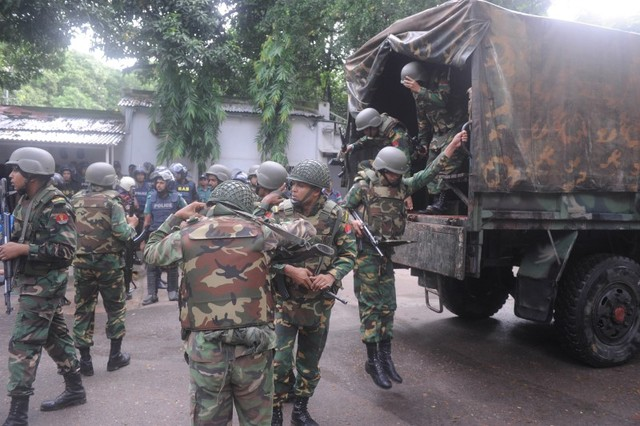Dhaka bakery standoff