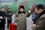 North Korean leader Kim Jong-un meets scientists and technicians in the field of research into nuclear weapons. Photo: KCNA via Reuters