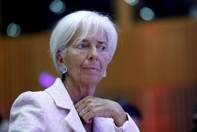 International Monetary Fund Managing Director, Christine Lagarde. Photo: Reuters/Jacky Naegelen